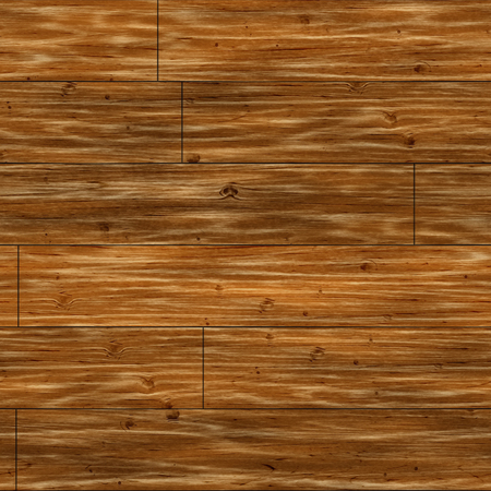 fulvous: Seamless brown parquet closeup pattern background. Stock Photo