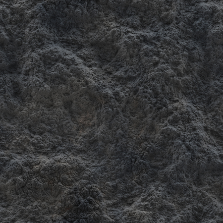 Seamless texture. Extinct volcanic ash. Gray mold. Moondust. Extraterrestrial surface.