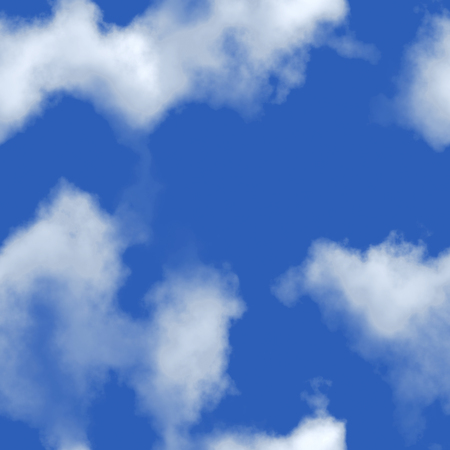 computergraphics: Seamless texture background sky with clouds. A high resolution. Stock Photo