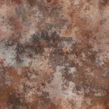 Seamless rusted metal background. A high resolution. Stock Photo