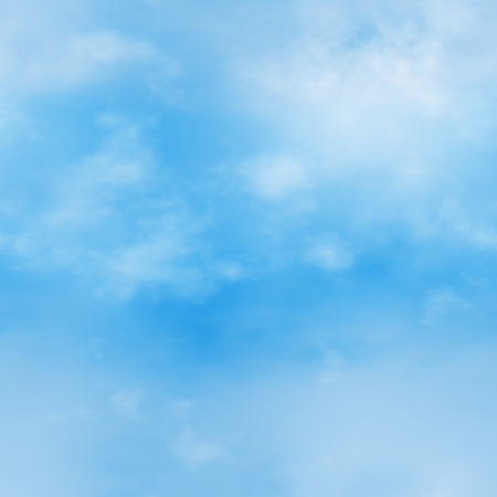 computergraphics: Seamless texture skies with light clouds. A high resolution. Stock Photo