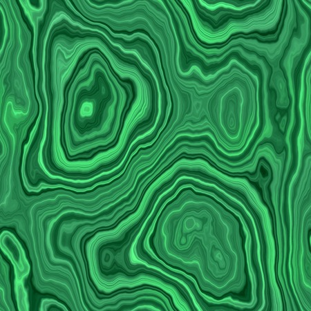 Seamless surface of polished malachite. Mineral sectional. A high resolution.