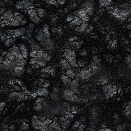 decomposition: Seamless texture of the ground. Frozen lava and mud.