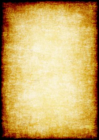 グランジの羊皮紙の背景。ぼろぼろの古いシート紙。 高解像度。 写真素材
