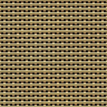 interweaving: Seamless texture perforated metal plate background.