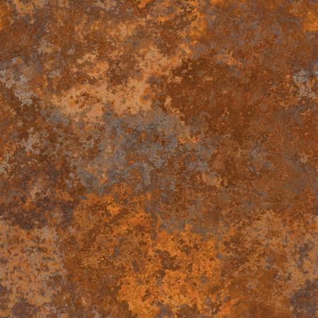 Naadloze oude roestige metalen structuur. Een hoge resolutie. Stockfoto