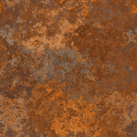 Seamless old rusty metal texture. A high resolution. Imagens - 54569514