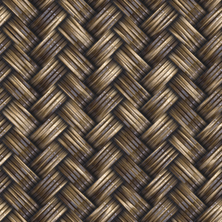 Seamless wicker basket texture background. A high resolution.