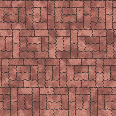 sidewalk: Seamless texture of paving slabs.