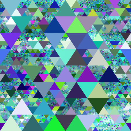 medley: Seamless abstract with triangles background.