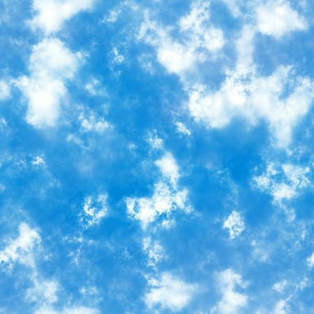 雲と空をシームレスなテクスチャ。高解像度。