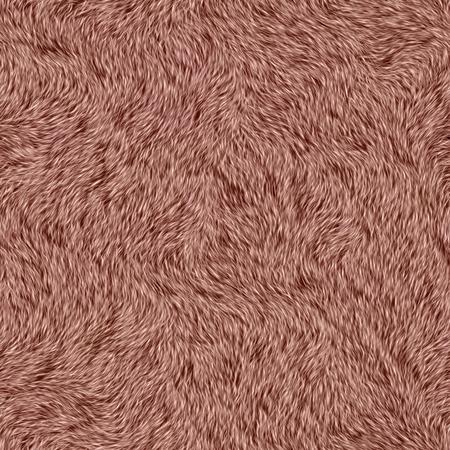 Seamless vinous fur. Carpet covering. Carpeting. Stock Photo