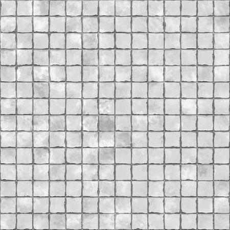 tile background: Seamless rough white tile background.