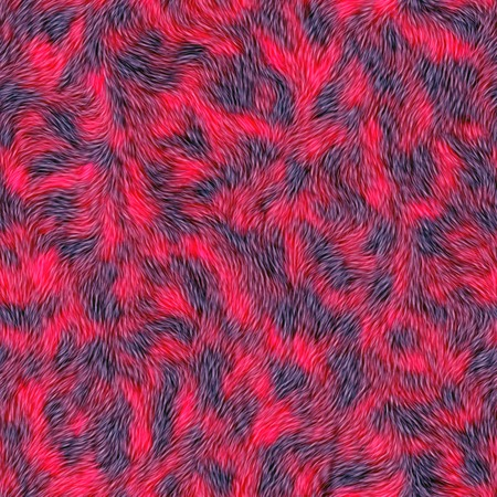 fur: Seamless red fur background. Carpet covering. Carpeting. A high resolution. Stock Photo