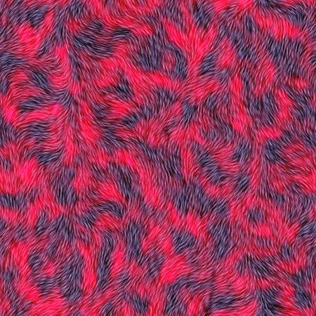 Senza soluzione di continuità sfondo rosso pelliccia. rivestimento in moquette. Moquette. Un alta risoluzione.