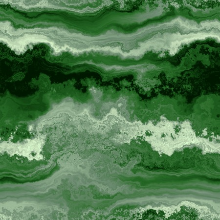 malachite: Seamless stone malachite background. The cut mineral. Stock Photo