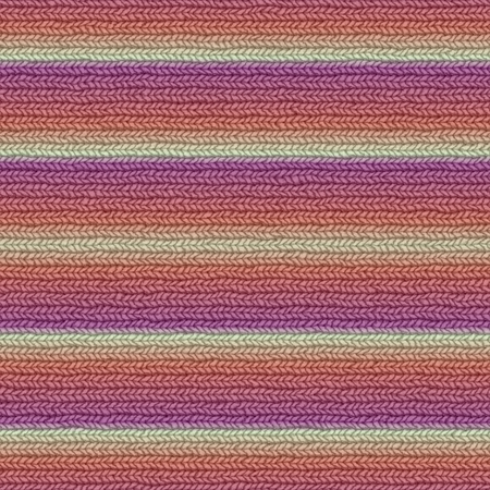Seamless knitted striped background. Archivio Fotografico
