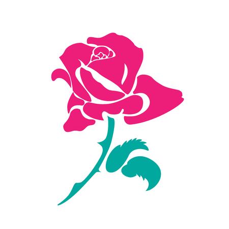 Rose icon.