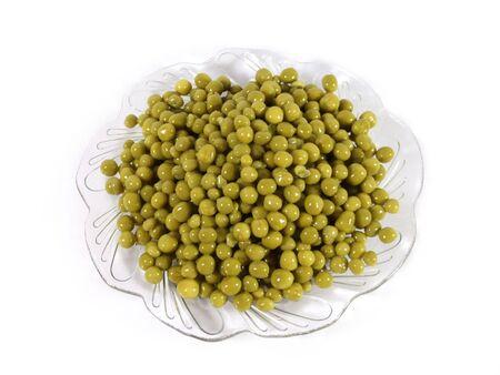 Green pea and corn lettuce photo