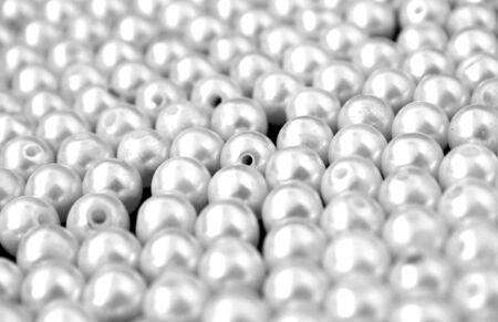 Many white bead
