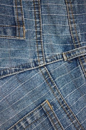 Texture jeans pockets and lines photo