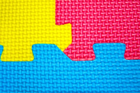 texture colors  puzzles close-up Stock Photo - 12573331