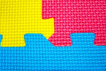 texture colors  puzzles close-up Stock Photo - 12573331