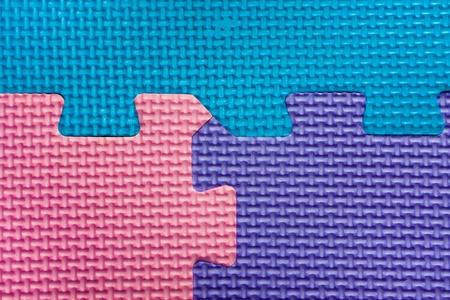 texture colors puzzles close-up photo