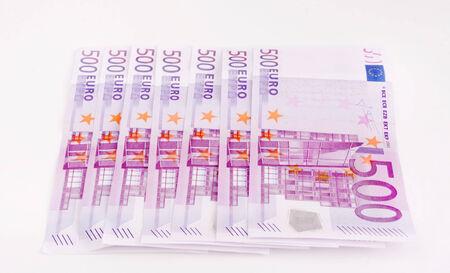 European Currency, 500 euro Stock Photo