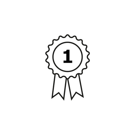 Medal first icon Illustration
