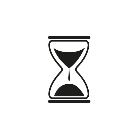 Sand time clock icon