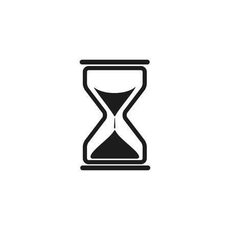 Sand times clock icon Illusztráció