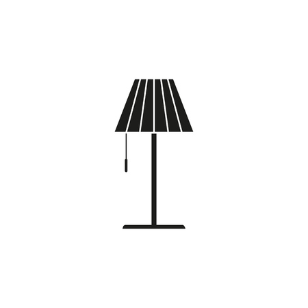 Lamp icon vector illustration
