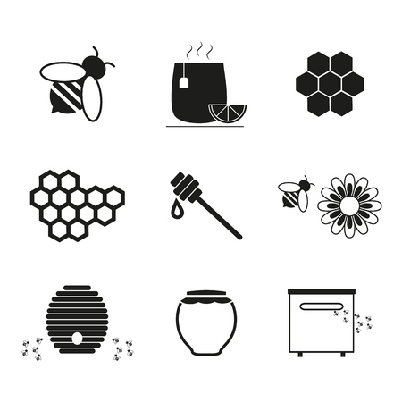 Set Honey online icons
