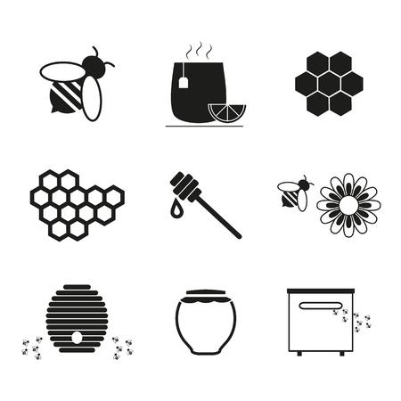 Set Honey online icons