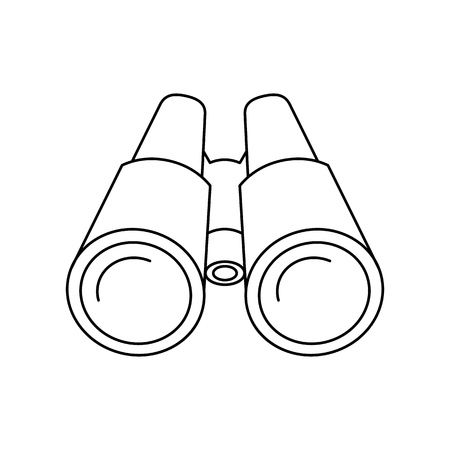 Binoculars of icon