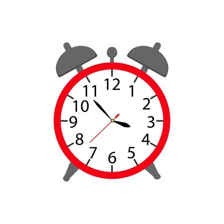 Alarm a clock icon in color ware up