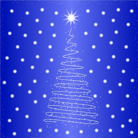 New Year tree icon in the color on the white background Imagens - 127149317
