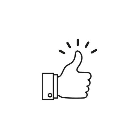 A good , like news,work, agree, confirm icon Ilustração