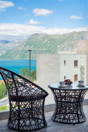 Breakfast with a great view Montenegro, Kotor