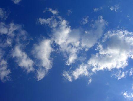 Bleu ciel  Banque d'images