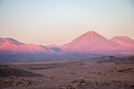 national geographic: Licancabur volcano, Atacama desert, Chile