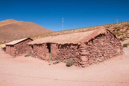 Machuca in Atacama Desert, Chile. Stock Photo
