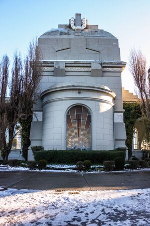 Punta Arenas, Chile - May 23, 2012: Cemetery in Punta Arenas, Chile.