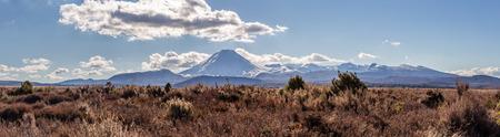 Mount Ruapehu Stock Photo