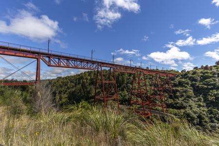 Makatote Viaduct in the North Island.