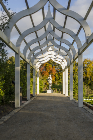 Pathway on Hamilton Gardens