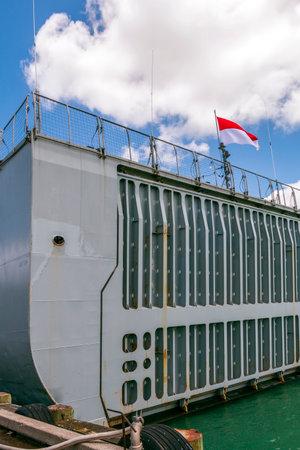 新西兰奥克兰- 2016年11月19日:新西兰船展Navy's 75岁生日庆祝活动,新西兰。