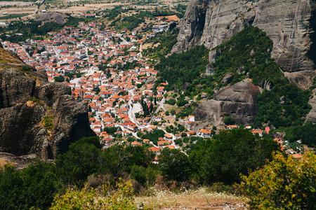 monasteri: Monasteri di Meteora � uno dei pi� grandi e importanti complessi dei monasteri greci ortodossi in Grecia