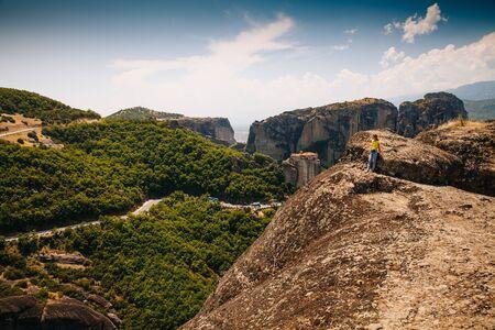 monasteri: Monasteri di Meteora è uno dei più grandi e importanti complessi dei monasteri greci ortodossi in Grecia